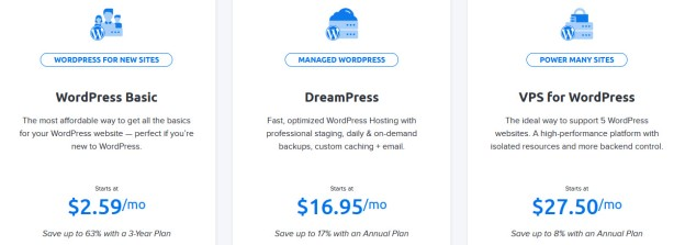 DH WordPress Hosting